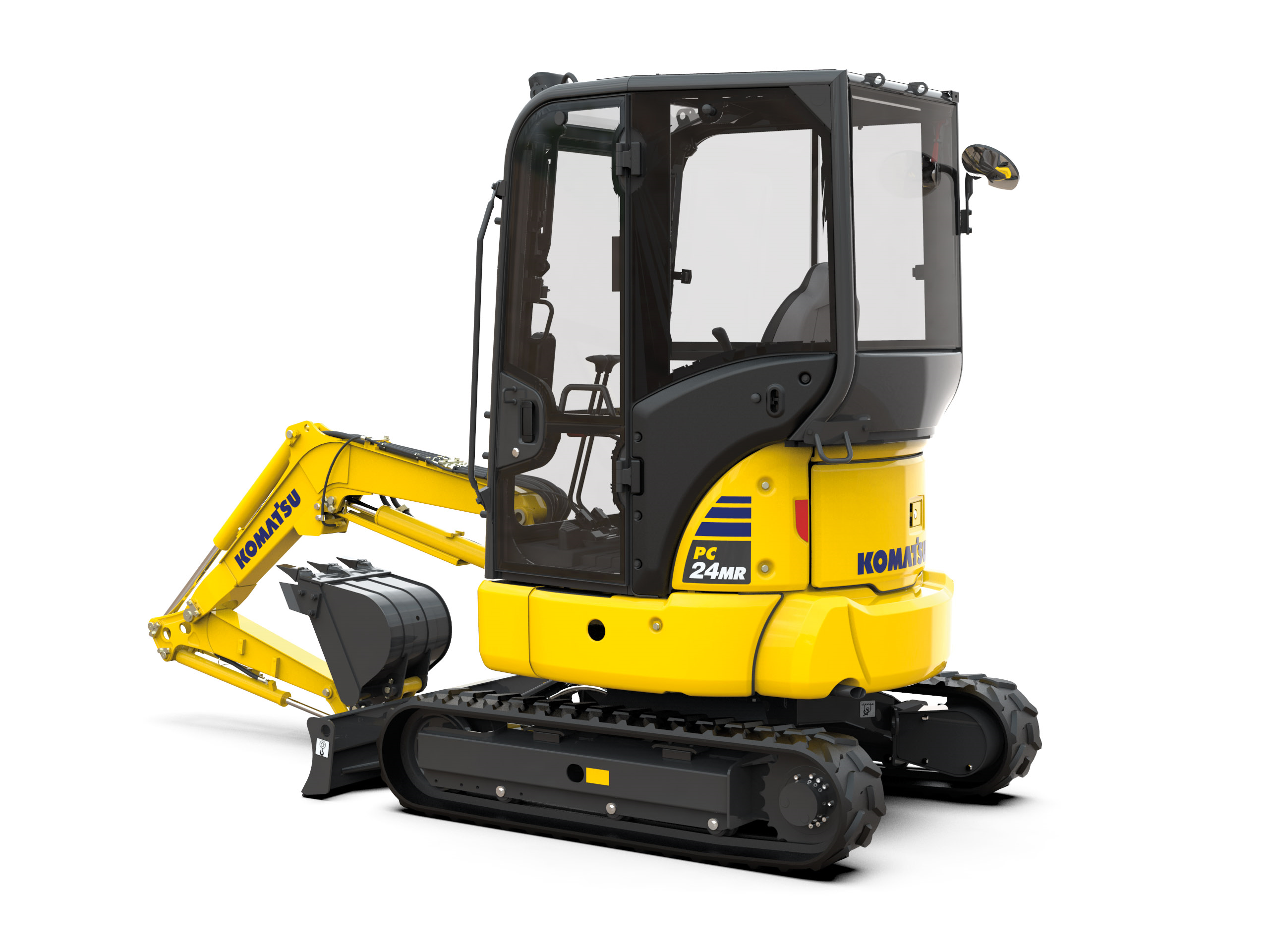 Introducing the new 	PC24MR- 5 mini excavator.