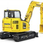 Introducing the new Komatsu PC88MR-11 Midi Excavator