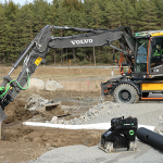 Steelwrist and Volvo CE expand the co-operation with the launch of factory-mounted SQ Auto Connect quick couplers on excavators