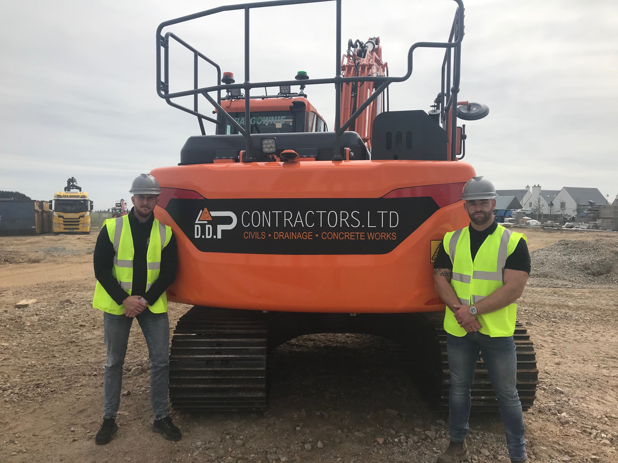 Scottish Contractor Prospers with New Doosan Excavator