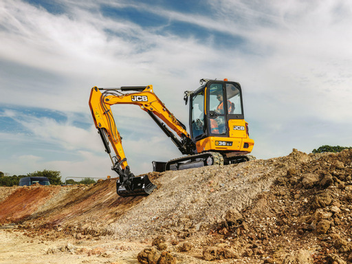 JCB expands compact excavator line with new 3.5-tonne models