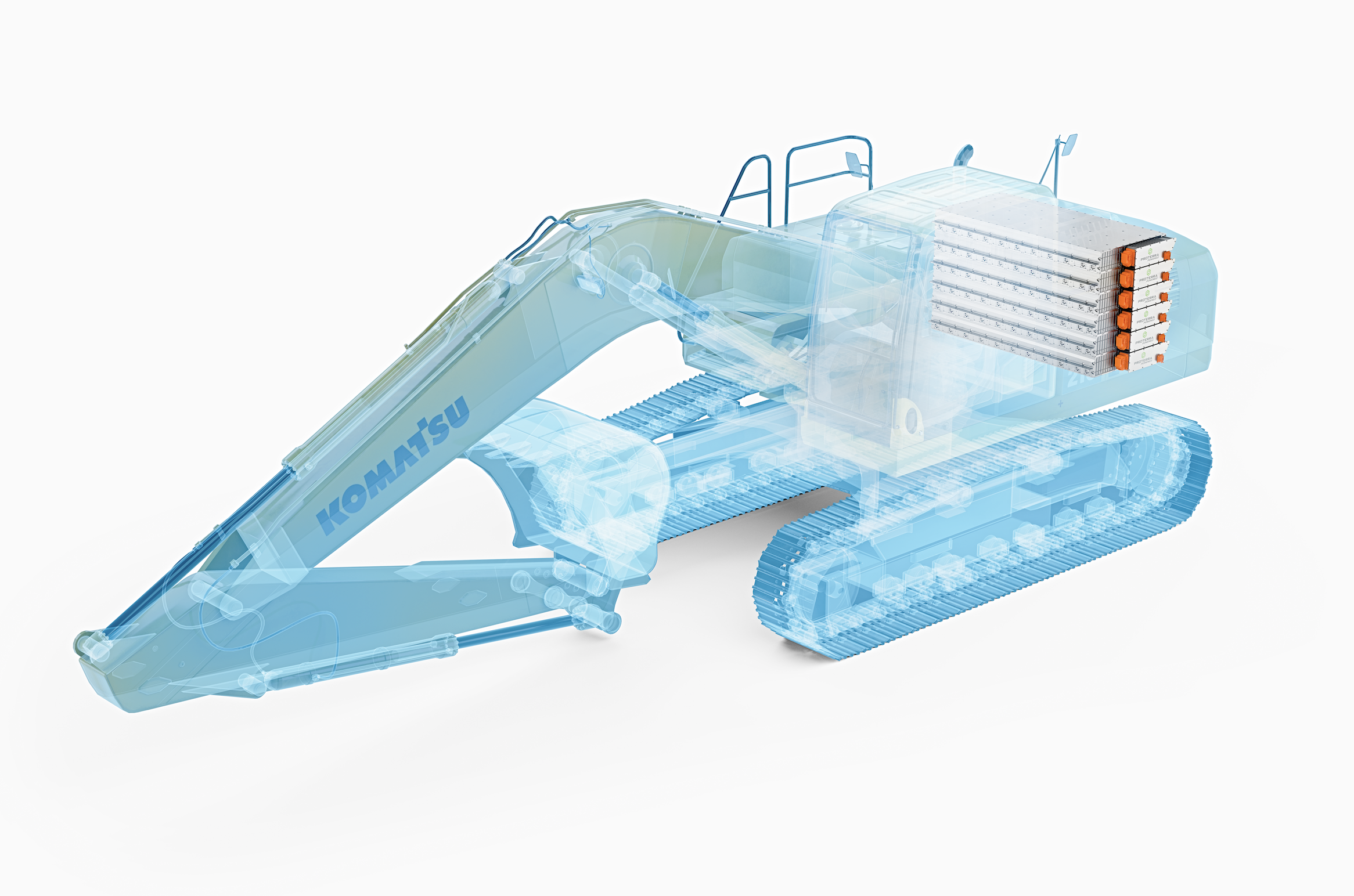 Joint PoC Verification Tests to Start for Electrification of Small and Medium-sized Hydraulic Excavators:  Announcing Collaboration with Proterra of the United States