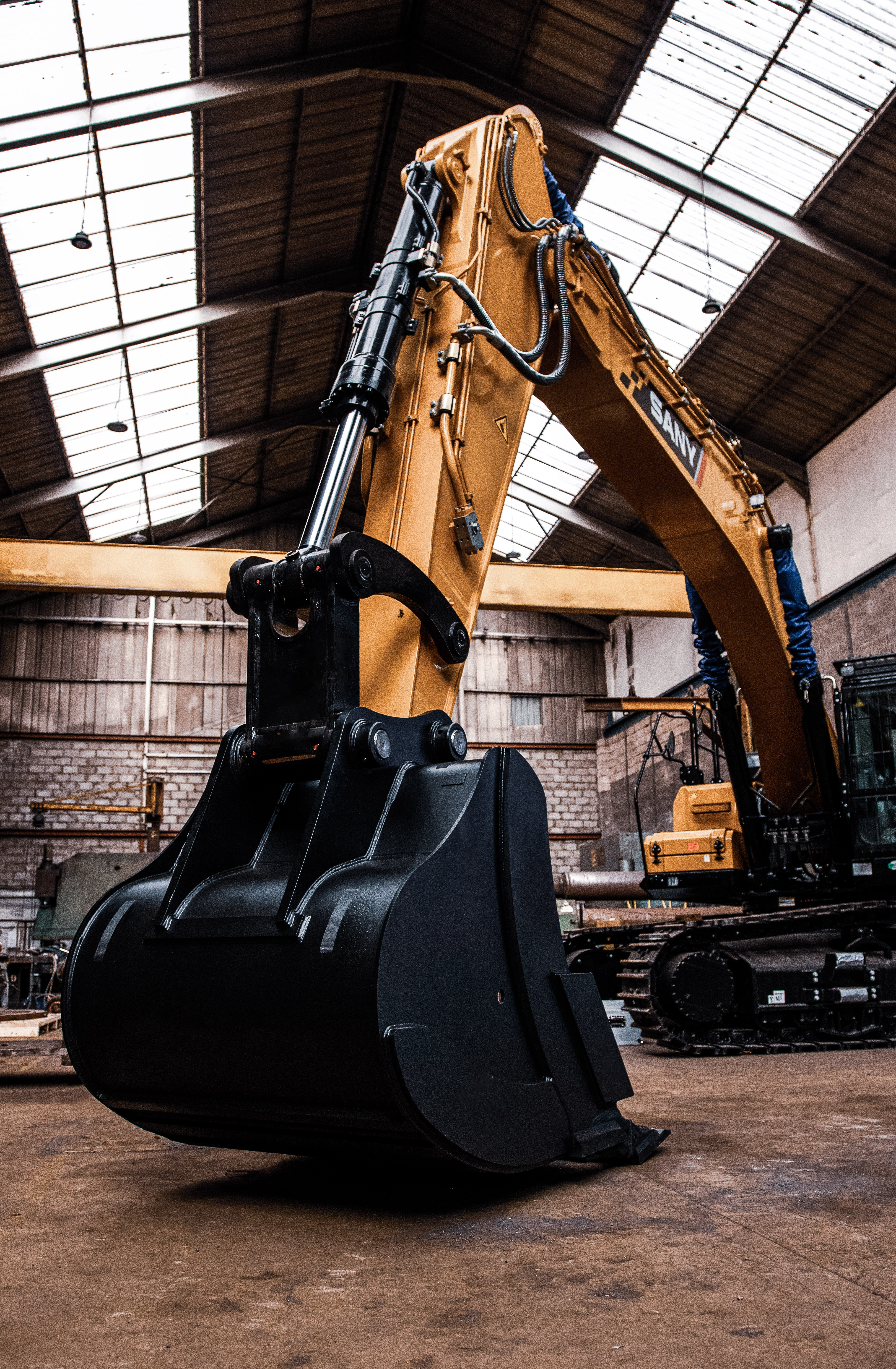THE UK'S FIRST SANY 50T EXCAVATOR SET TO START WORK