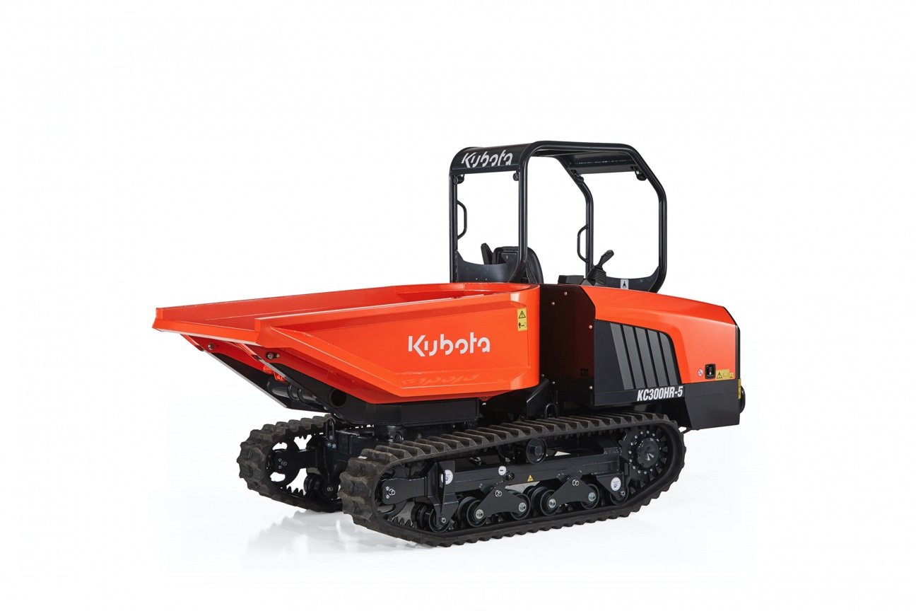 KUBOTA ANNOUNCES THE LAUNCH OF A NEW EU STAGE V TRACKED DUMP TRUCK
