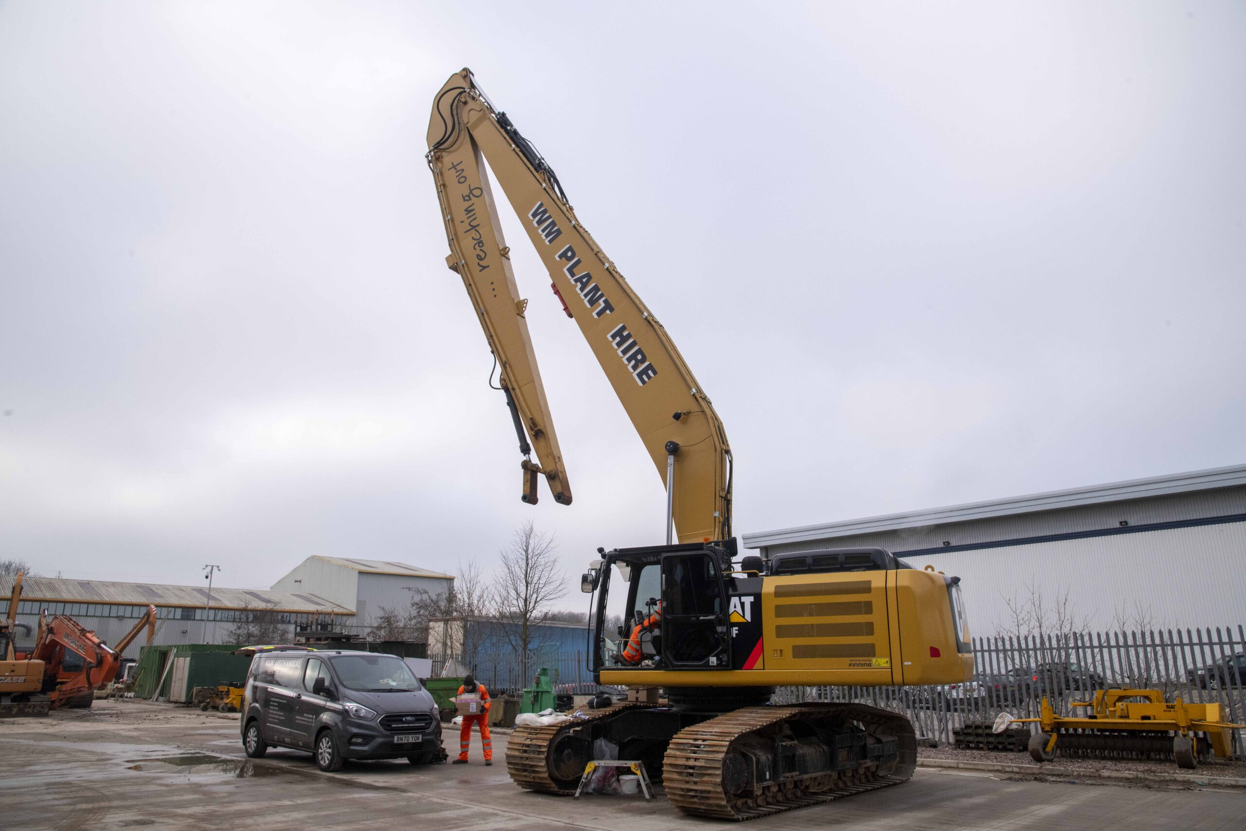 The UK's leading long reach excavator hire company, WM Plant Hire has recently joined the XWatch revolution