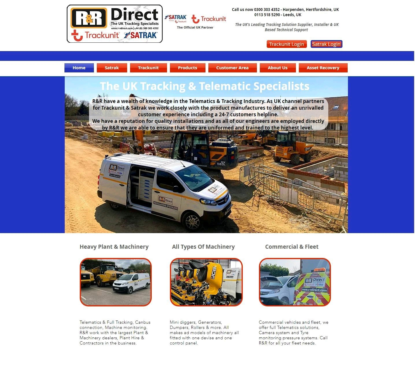 R&R Direct working in partnership with the biggest names in the Telematics & Digital information industry.