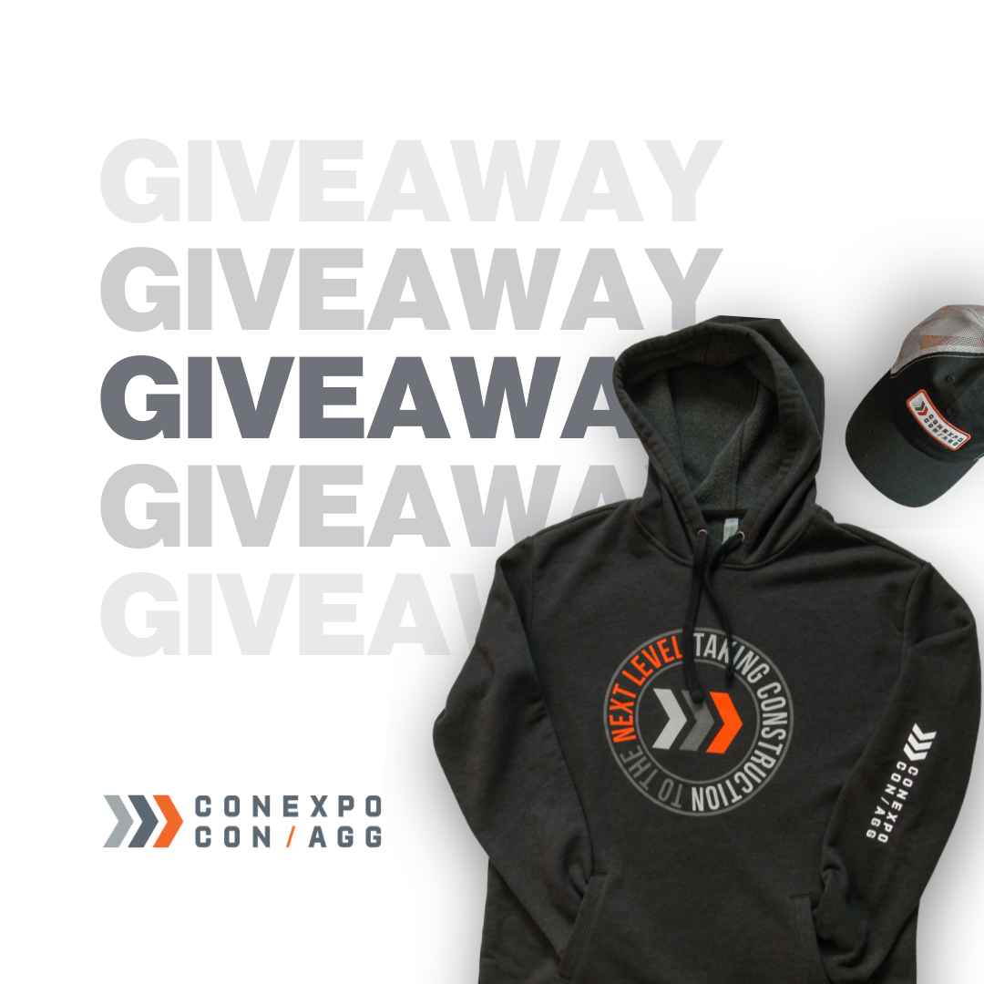 NEW LOGO, NEW SWAG GIVEAWAY
