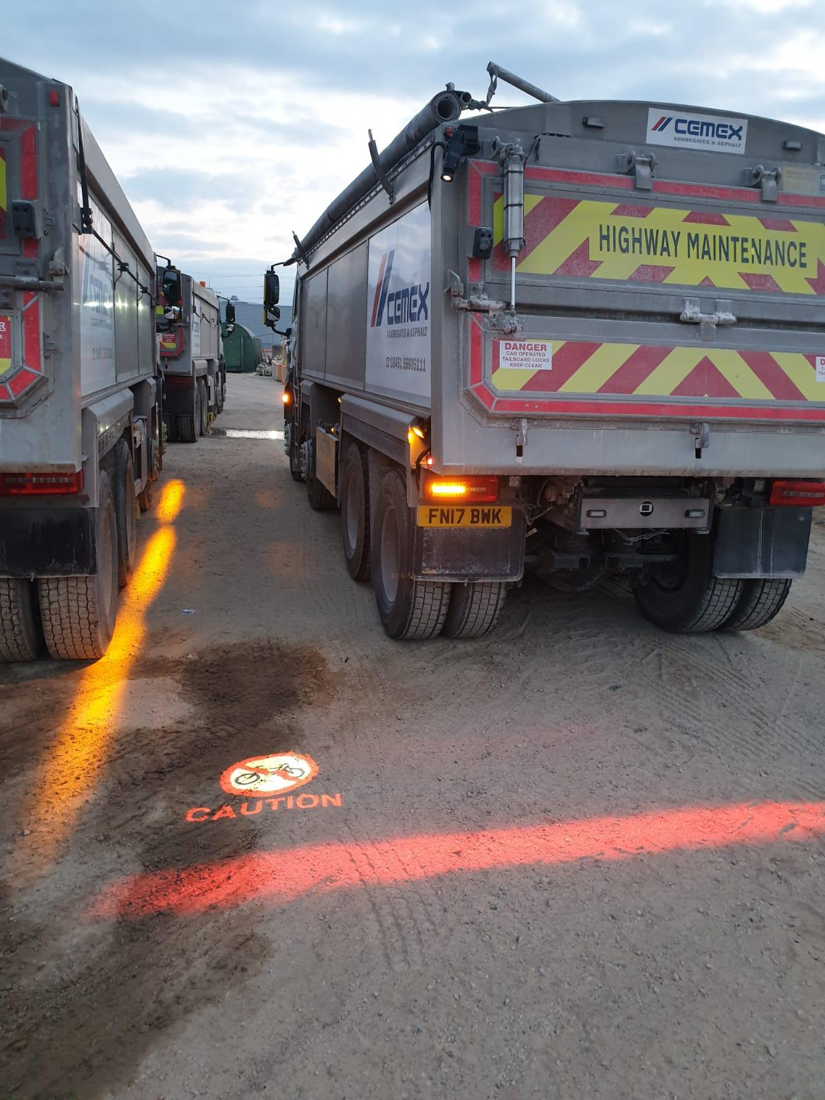 FHOSS launches new Cycle Lane  safety product with CEMEX
