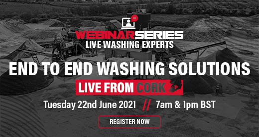 TEREX WASHING SYSTEMS TO HOST LIVE END TO END WASHING SOLUTION SHOWCASE