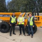 Family Contractor Places its Largest Thwaites Dumper Order to date.
