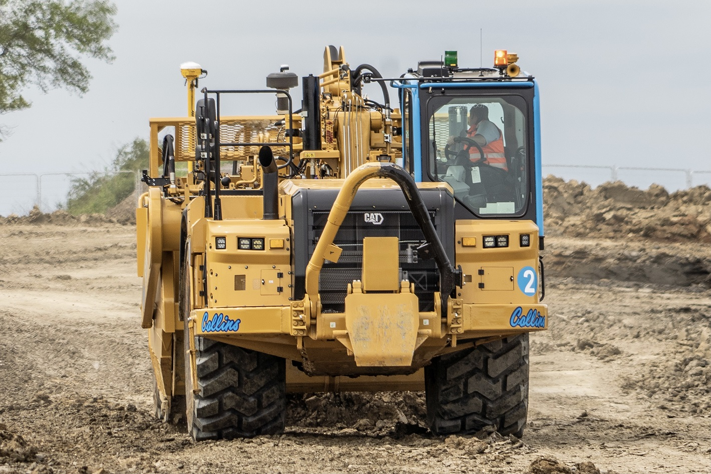 Collins Earthworks going back to old-school cool