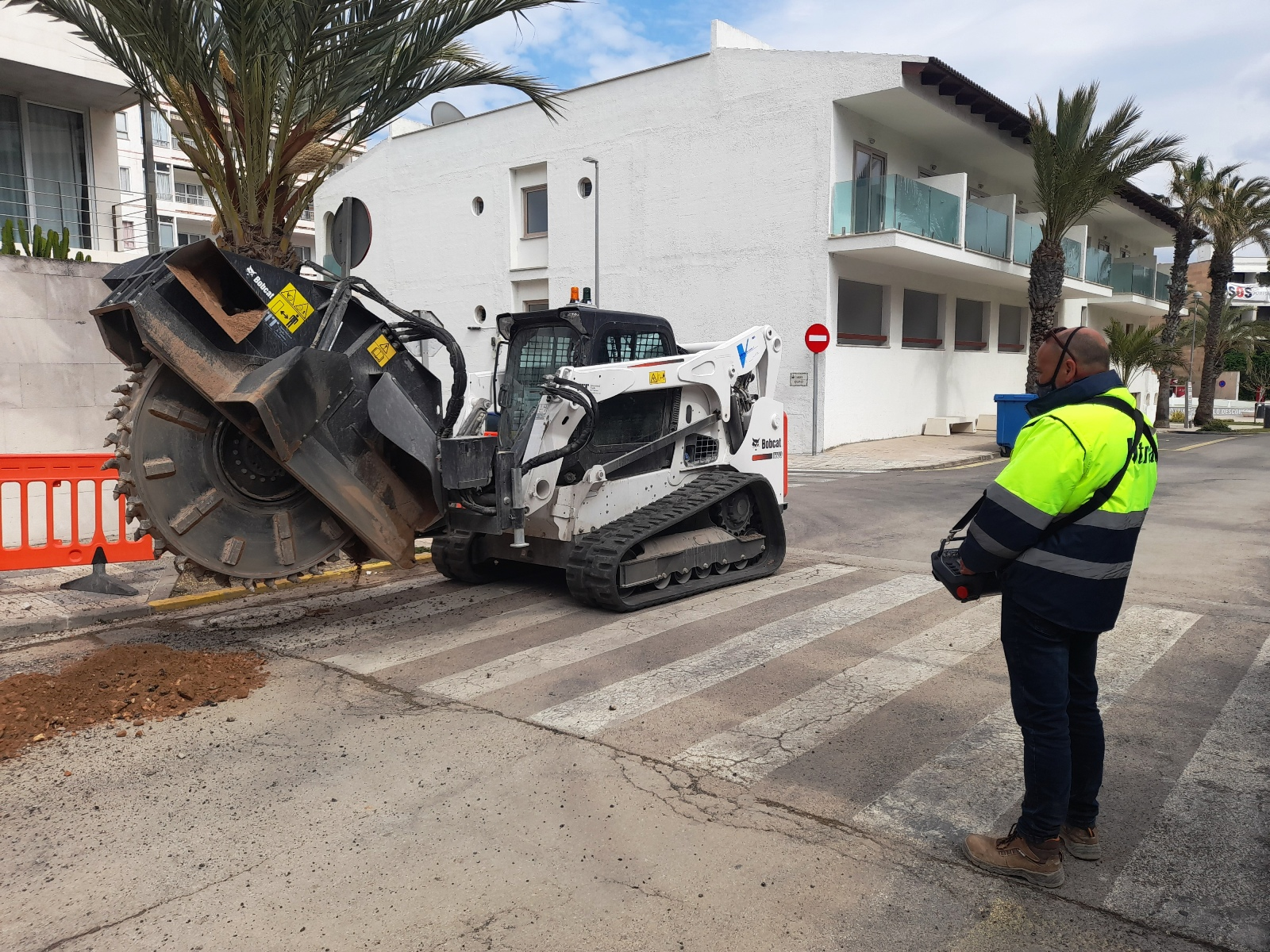 Bobcat Remote Control – A New Way of Working in Spain