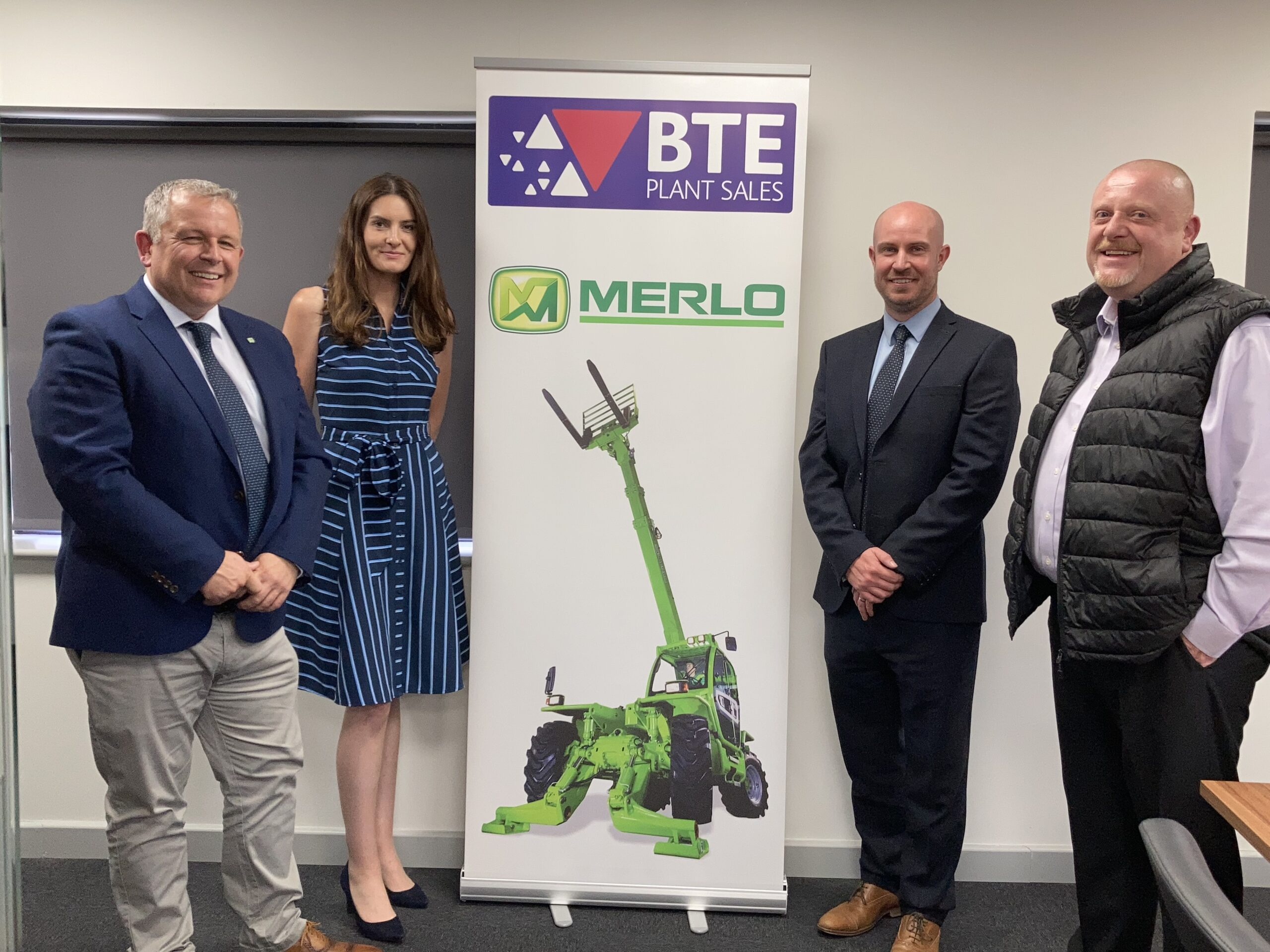 UK'S LARGEST INDEPENDENT CONSTRUCTION DEALER PARTNERS WITH MERLO