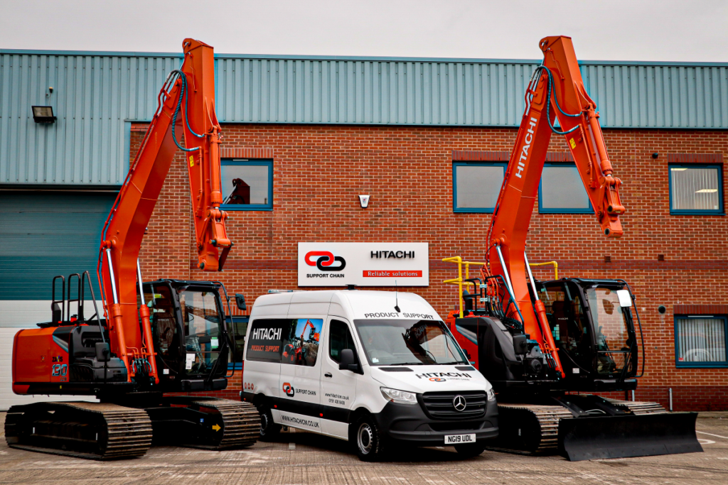 Hitachi Construction Machinery UK opens new Product Support depot in Wakefield