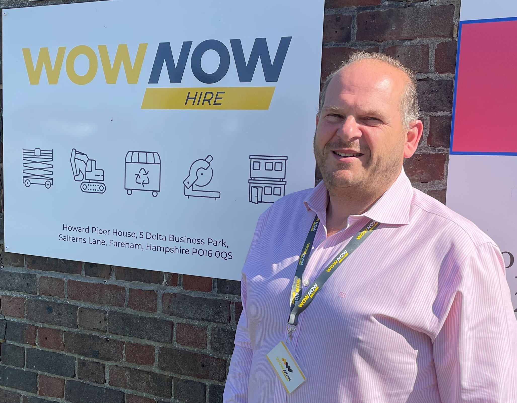 Business growth expert takes CEO role at WowNow Hire